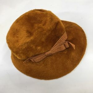 Vintage Teddy Fur Bambergers Musketeer Hat